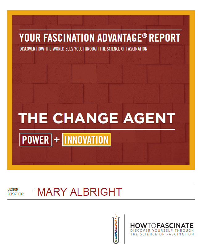 Fascination Advantage Report - Mary Albright