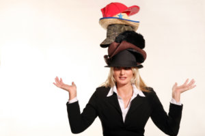 leadership coaching - leaders wear many hats